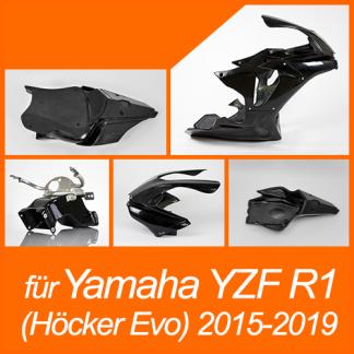 """YZF R1 (RN32,RN49) 2015-2019 """"mit Höcker Evo"""""""